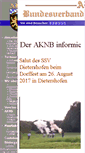 Mobile Preview of aknb-online.de